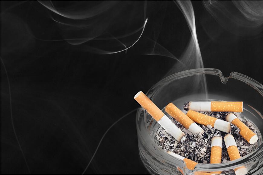 O cigarro é constituído por diversas substâncias, muitas delas cancerígenas.