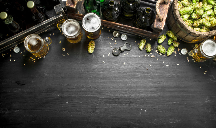 O lúpulo apresenta resinas que conferem às cervejas o sabor amargo.