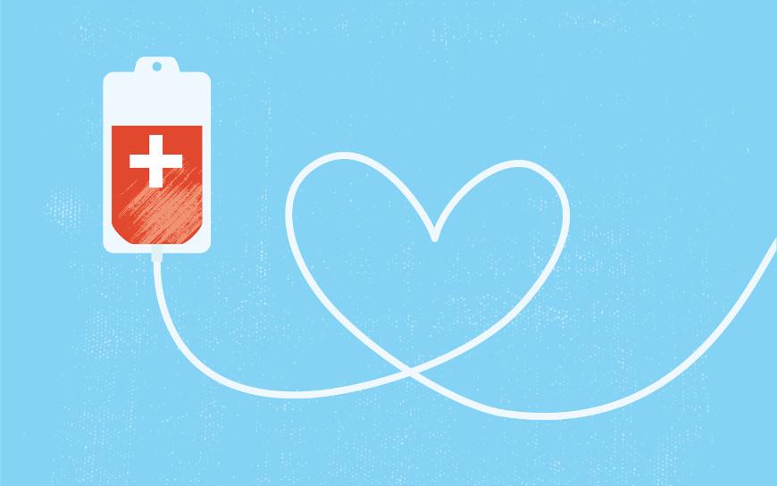 A doação de sangue deve ser entendida como um ato de altruísmo e que deve ser feita de maneira regular.