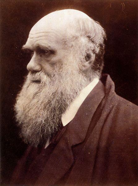 """Charles Darwin, autor da obra """"A Origem das Espécies""""."""