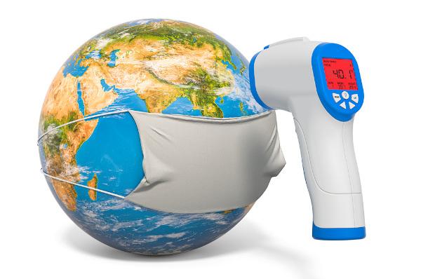 A pandemia ocorre quando uma determinada doença apresenta distribuição em diversos países, em mais de um continente.