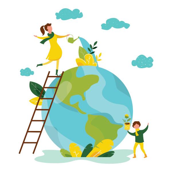 É obrigação de todos cuidar do nosso planeta, o nosso lar.