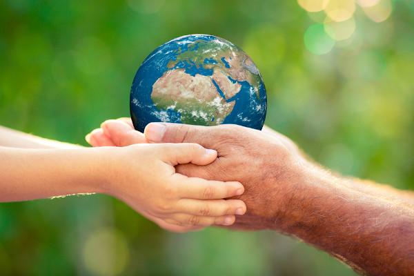 Anualmente, no dia 22 de abril, é celebrado o Dia da Terra.
