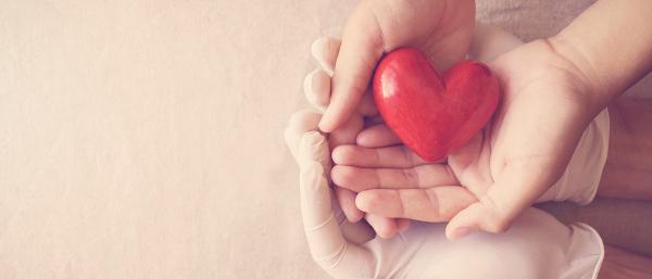 A doação de órgãos é um ato de amor que pode salvar vidas.