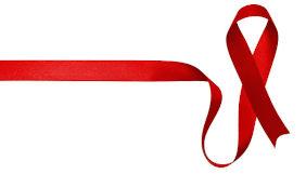 símbolo da luta contra a Aids