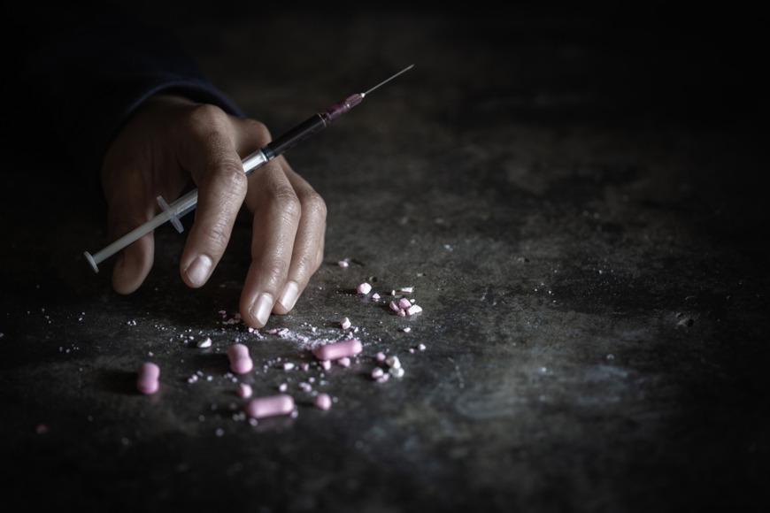 O consumo de drogas pode levar o indivíduo à morte.
