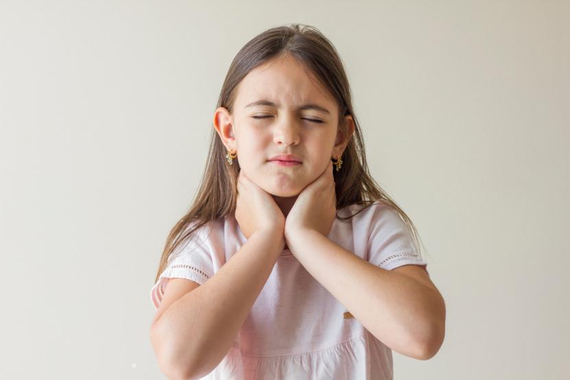 A faringite provoca a famosa dor de garganta.
