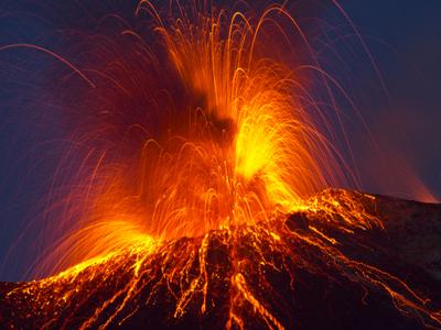 Arqueas são capazes de viver em ambientes extremos, como vulcões