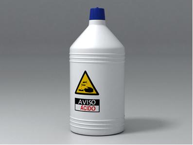Muitos ácidos são perigosos, pois são tóxicos e corrosivos
