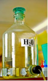 A água destilada é um exemplo de substância pura