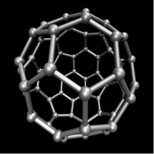 Carbono-60 (buckminsterfullerene)