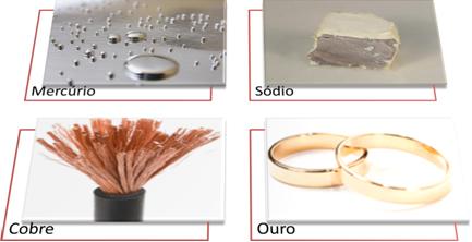 Exemplos de metais