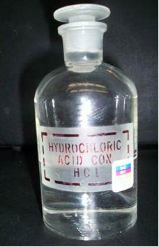 O ácido clorídrico é um ácido forte