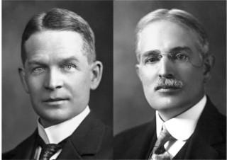 Frederick Soddy (1877-1956) e Theodore William Richards (1868-1928) foram os primeiros cientistas que descobriram a isotopia que ocorria com o chumbo