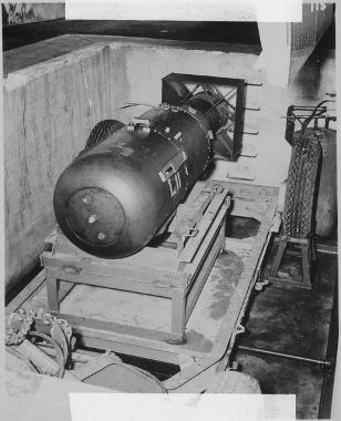 Bomba little boy lançada em Hiroshima