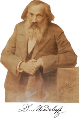 Imagem de Dmitri Ivanovich Mendeleiev (1834-1907)
