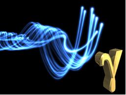 A emissão gama é uma onda eletromagnética
