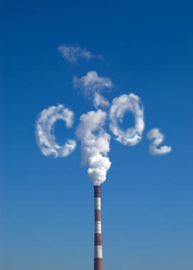 Poluição e liberação de gás carbônico para a atmosfera
