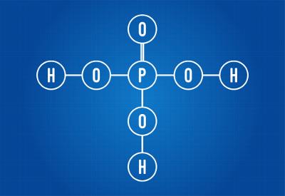 Fórmula molecular do ácido fosfórico