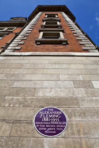 O Hospital St. Mary foi o local da descoberta da penicilina