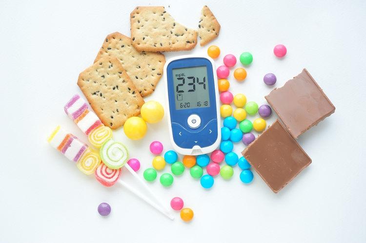 Níveis muito altos de glicose no sangue podem indicar diabetes.