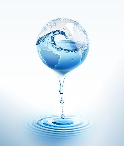 A água é a substância mais comum do planeta