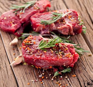 A carne é uma fonte de vitamina B3