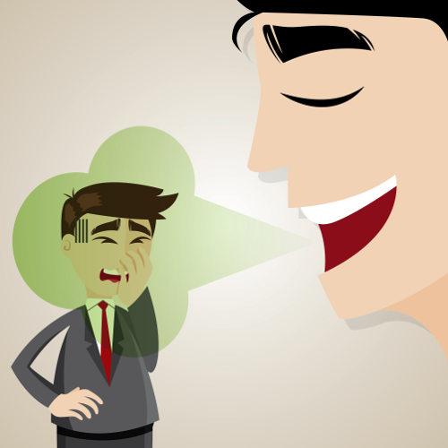 A halitose pode causar problemas no relacionamento entre pessoas
