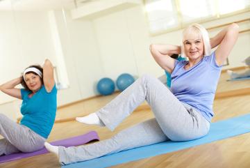 A prática de exercícios está relacionada com o aumento da expectativa de vida