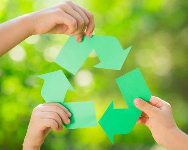 A reciclagem reduz os resíduos depositados na natureza