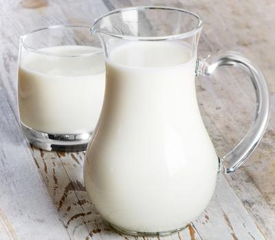 A vitamina B2 pode ser encontrada em grande quantidade no leite