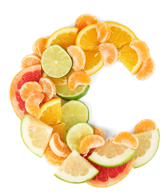A vitamina C é bastante encontrada em cítricos