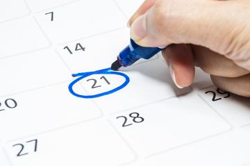 Antes de adotar o método da tabelinha, é necessário conhecer o padrão menstrual
