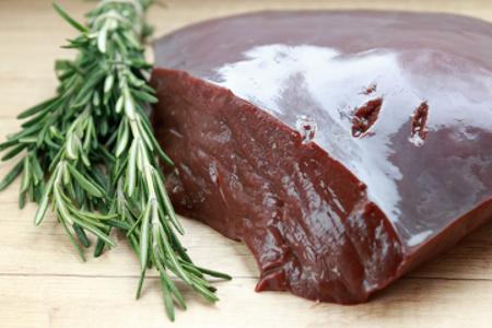 O fígado é uma importante fonte de vitamina B7