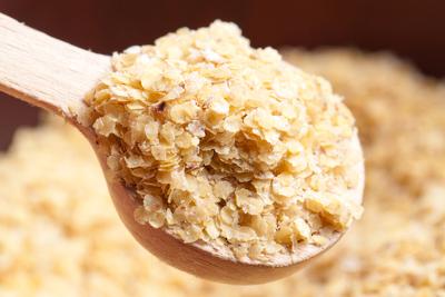O germe de trigo é rico em vitamina E