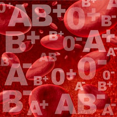 O sistema ABO determina quatro diferentes tipos sanguíneos