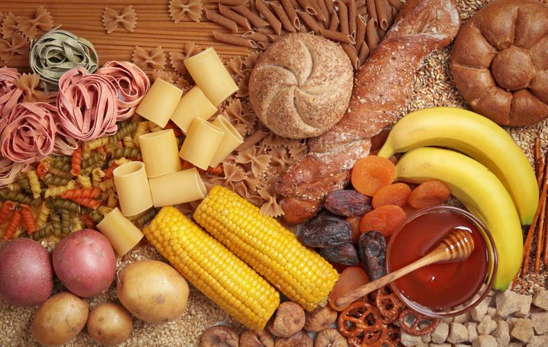 Os carboidratos são encontrados em todos os alimentos de origem vegetal