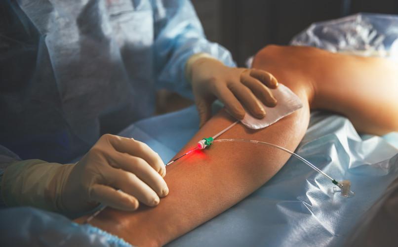 Veias superficiais, por serem mais aparentes, são utilizadas para aplicação de substâncias intravenosas
